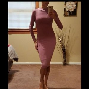 Naked Wardrobe Midi Dress